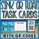 Sink or Float QR Code Task Cards