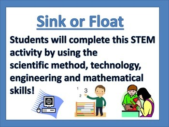 Sink or Float S.T.E.M Activity