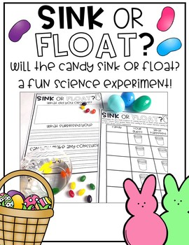 Sink or Float Science {Easter Candy}