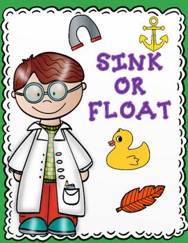 Sink or Float:  Sort It Out Activities for Kindergarten