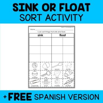 Sink or Float Sort Activity
