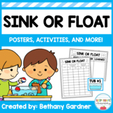 Sink or Float Activities - UPDATED!
