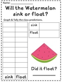 Sink or Float- Watermelon Science