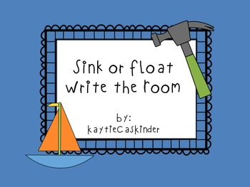 Sink or Float: Write the Room