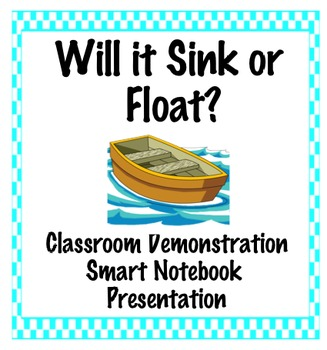 Sink or Float- class demonstration lesson