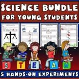 Science Bundle: Sink or Float, Magnetic, Body Part Hunt, Weigh & Measure, Colors