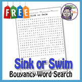 Sink or Swim - Bouyancy Word Search