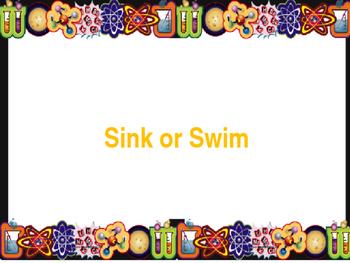 Sink or Swim (Periodic Table)