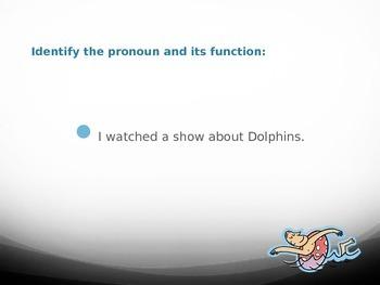 Sink or Swim Pronoun Review