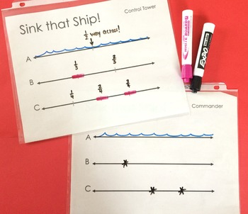 Sink that Ship! Locate Benchmark Fractions on a Number Line
