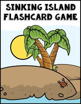 Sinking Island Flashcard Game