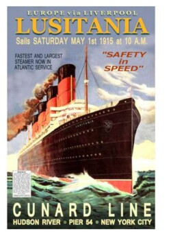 Sinking of the Lusitania World War One Handout Pack