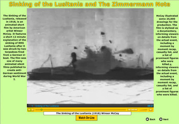 Sinking of the Lusitania and the Zimmermann Note - Bill Burton