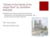 Sinners in the Hands of An Angry God Guided Reading