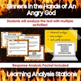 Sinners in the Hands of an Angry God Analysis Learning Stations