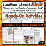 """Sinners in the Hands of an Angry God"" Can Be Fun - Plus more Jonathan Edwards"