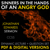 """Sinners in the Hands of an Angry God,"" Jonathan Edwards'"