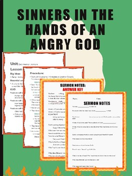 Sinners in the Hands of an Angry God Lesson