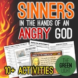 Sinners in the Hands of an Angry God Worksheets, PowerPoint, Task Cards