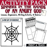 Sinners in the Hands of an Angry God by Edwards: Citing Evidence Activities
