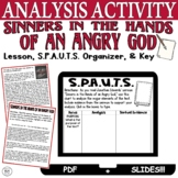 Sinners in the Hands of an Angry God by Edwards: Graphic Organizer (SPAUTS)