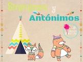 Sinonimo y Antonimo/ Spanish antonyms & synonym