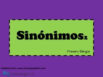 Sinónimos 2