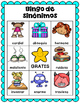 Sinónimos (Synonyms SPANISH)