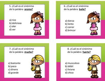Sinonimos en Espanol