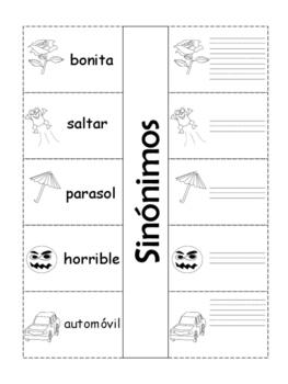 Sinónimos, juego y actividad