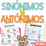 Sinónimos y antónimos BUNDLE Synonyms and Antonyms in Spanish