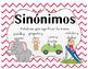 Sinonyms and Antonyms Domino Spanish, sinonimos y antonimos