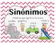 Sinonyms and Antonyms Domino Spanish, sinonimos y antonimos