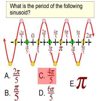Sinusoids in Radians: Writing an Equation of Sine and Cosine for PDF