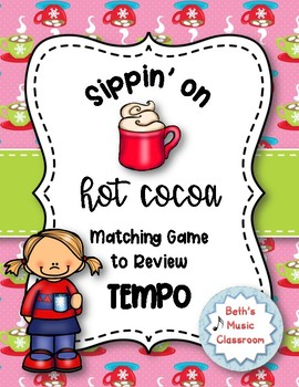 Sippin' on Hot Cocoa! Matching Game to Review Tempo