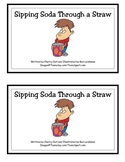 Sipping Soda Through a Straw Guided Reader (-aw Word Family/ Str initial blend)