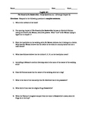 Sir Arthur Conan Doyle's--The Hound of the Baskervilles Complete Worksheet Pack