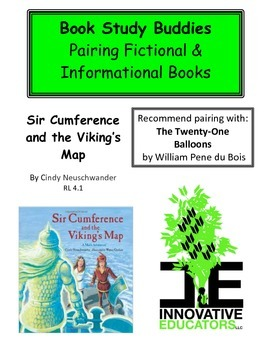 Sir Cumference and the Viking's Map - Pairing Fiction and