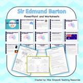 Sir Edmund Barton and his Contribution to Federation - Sli