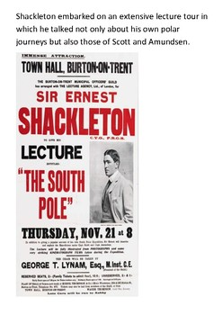 Sir Ernest Henry Shackleton Word Search