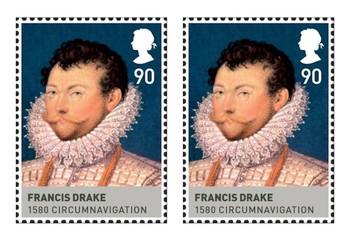 Sir Francis Drake Comic Strip and Storyboard