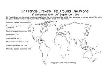 Sir Francis Drake's Trip Around The World