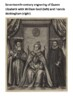 Sir Francis Walsingham Handout