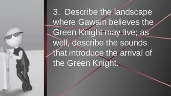 Sir Gawain and the Green Knight Part IV Quiz