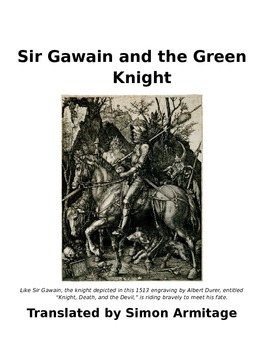Knights reading teaching resources teachers pay teachers sir gawain and the green knight reading guide fandeluxe Gallery