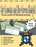 Sir Gawain and the Green Knight Three Levels of Reading Activity