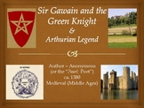 Sir Gawain and the Green Knight Unit 16-Day,PPTs,FullText,Quiz,Essay,Common Core