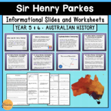 Sir Henry Parkes and his Contribution to Australian Democr