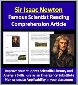 Sir Isaac Newton - A Famous Scientist Reading