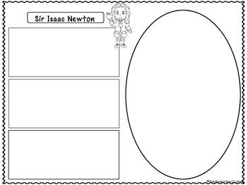 Sir Isaac Newton (Inventor Graphic Organizers)